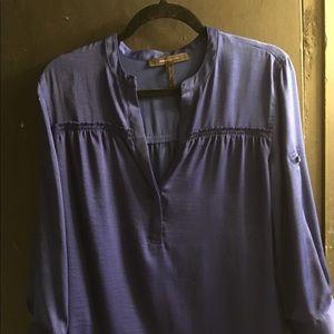 Bcbg MaxAzria satin blouse size M